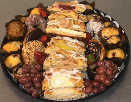 Fresh fruit, danish, muffins, King of Prussia Duffy's Restaurant and Catering